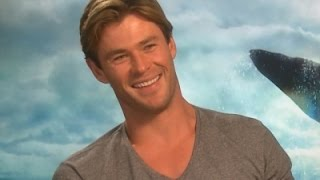 Hemsworth Not Suited to Life on the Ocean Waves