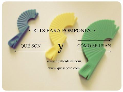 Cómo usar kits para pompones