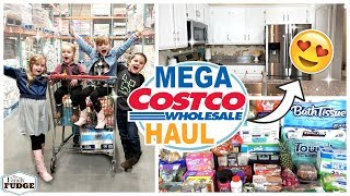 MEGA One Month Grocery Haul 😱 + DIY Kitchen Reno Update