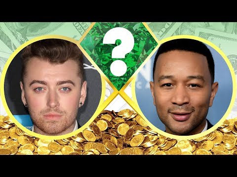 WHO'S RICHER? - Sam Smith or John Legend? - Net Worth Revealed! (2017)