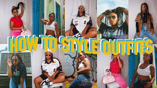 HOW TO STYLE OUTFITS⭐️