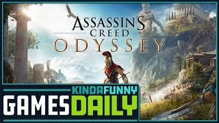 Assassin Creed Odyssey's Big Season Pass - Kinda Funny Games Daily 09.13.18