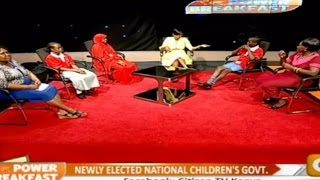Power Breakfast: Newly Elected National Children's Government