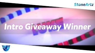 Intro Giveaway Winner! ~ StoneArtz