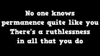 Architects - C.A.N.C.E.R (lyrics)