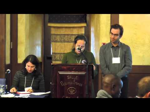 Community Mapping, Video and Photo Voice Panel - CICADA Conference, Oct. 24, 2015