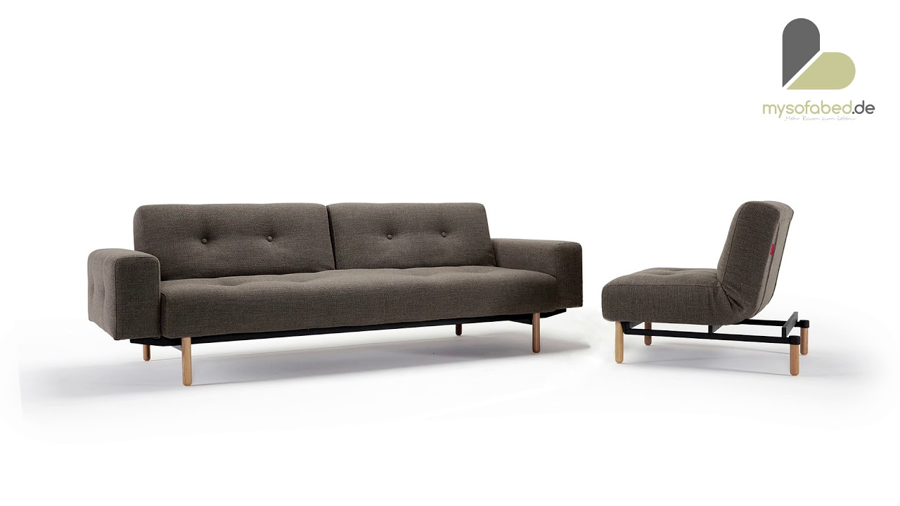 Innovation Sessel Ample Schlafsofa Sessel Mit Armlehnen Von Innovation Mysofabed De