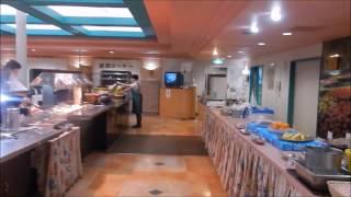 商船三井フェリー「さんふらわあ さっぽろ」の夕食バイキング