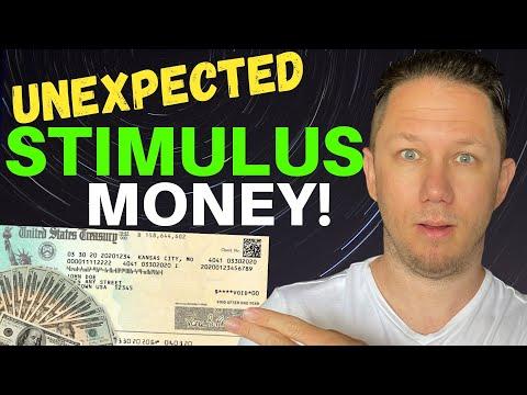 UNEXPECTED STIMULUS MONEY! Fourth Stimulus Check Update + New Tax Credits, & Stimulus Programs!