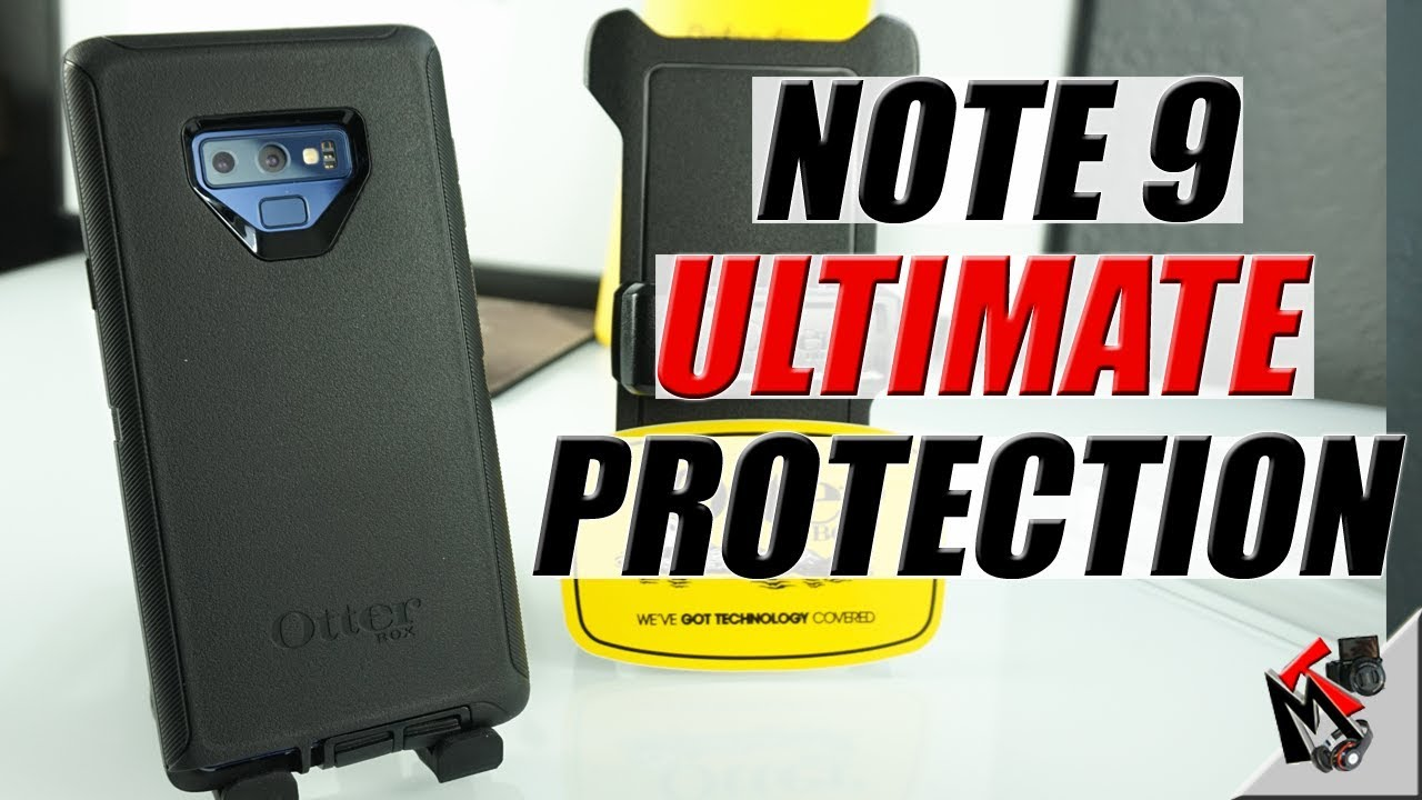 new product 989d9 8000b Galaxy Note 9 -Otterbox Defender Series Case