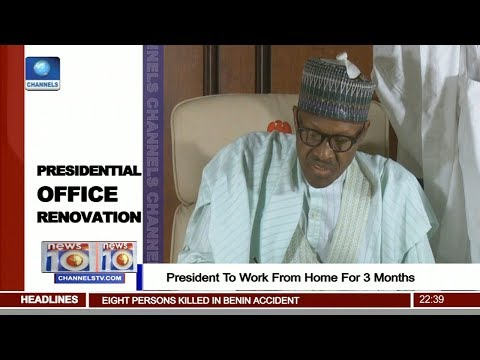 President Buhari To Work From Home For 3 Months Pt.3 |News@10| 22/08/17