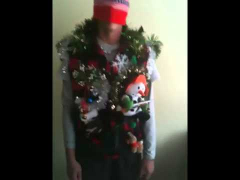 Redneck hillbilly hunting ugly Christmas sweater - YouTube