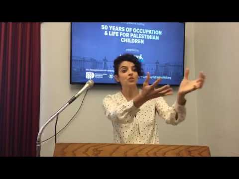 Nadia Ben-Youssef: Congressional Briefing - 50 Years of Occupation and Life for Palestinian Children