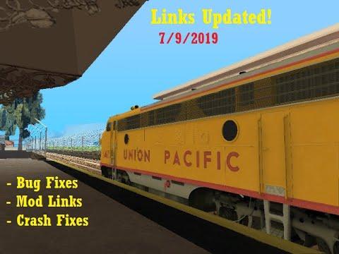 GTA SA American Train Mods