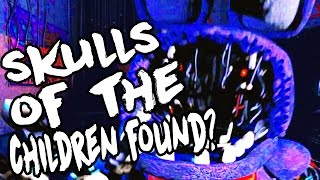 Five Nights At Freddys 2: Skulls Of The Dead Children Found?!