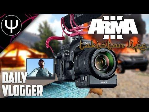 ARMA 3: Takistan Life Mod — Daily VLOGGER!