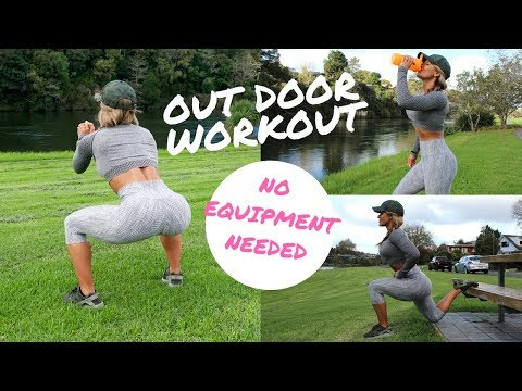 OUTDOOR WORKOUT NO EQUIPMENT NEEDED!