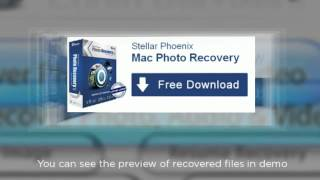 Stellar Phoenix Mac Photo Recovery Software to recover lost photos