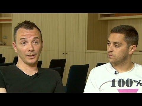 French same-sex couple plan children