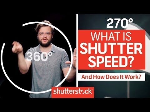How To Expose An Image: What Is Shutter Speed? | Shutterstock Tutorials
