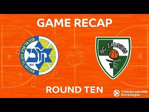 Highlights: Maccabi FOX Tel Aviv - Zalgiris Kaunas