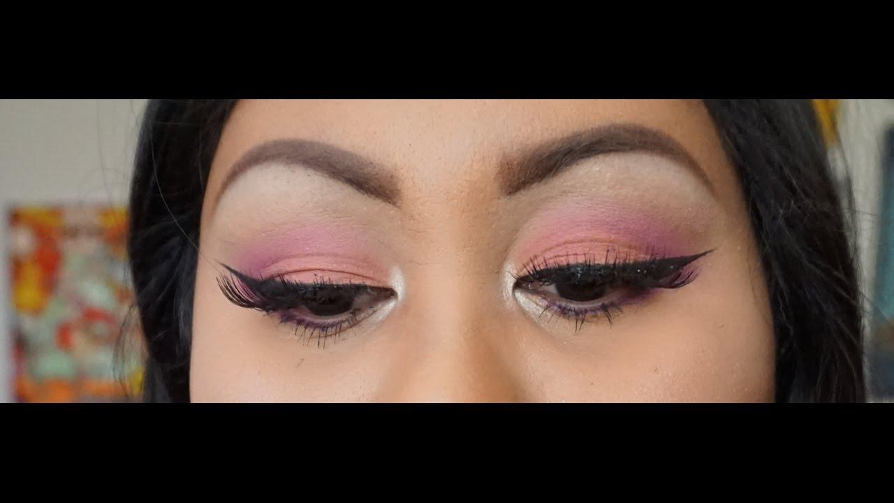 Pink And Purple Eyeshadow Using Selena X Mac Collection Youtube