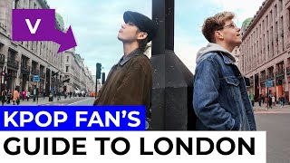 A guide for Kpop fans in London | Vlog