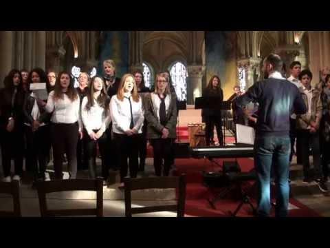 Amazing Grace - répétition - Chorale - Choeur - Creil - Oise - Picardie - France