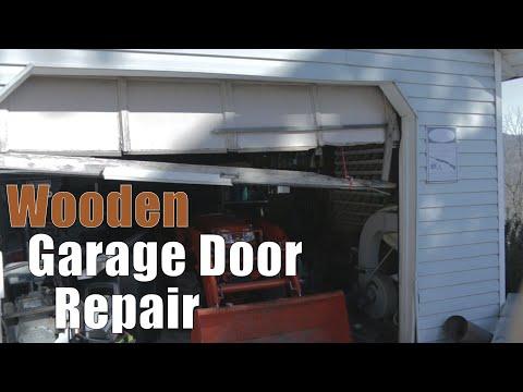 Wooden Garage Door Repair