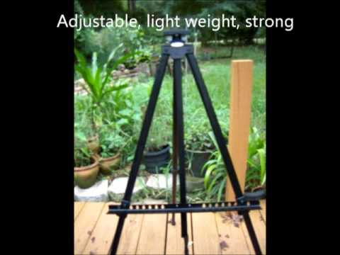"US Art Supply Big Sur 80"" X-large Aluminum Tripod Field & Display Easel 🎨"