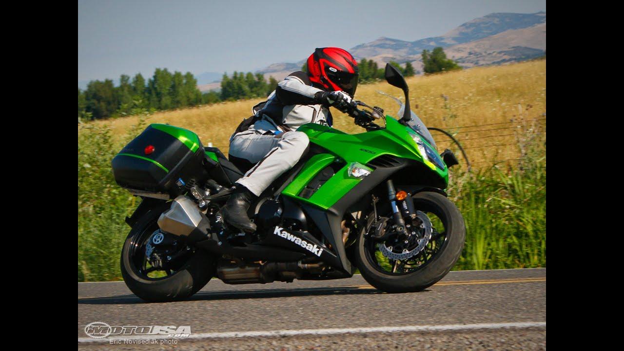 2014 Kawasaki Ninja 1000 - Sport-Touring Shootout Part  | Doovi