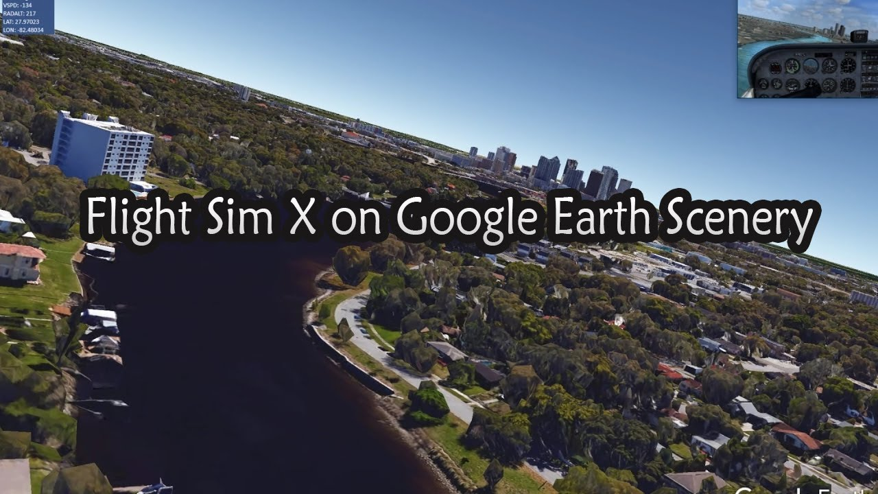 Flying with aerofly fs 2, and     Google earth ? - General