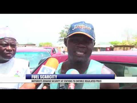 FUEL SCARCITY: MOTORISTS DEMAND SECURITY AT STATIONS TO ENFORCE REGULATED PRICE