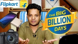 FLIPKART BEST DSLR DEALS FROM BIG BILLON DAY SALE 2017 ! [HINDI]