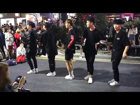 JHKTV] 홍대댄스 hong dae k-pop dance Xtime knock knock