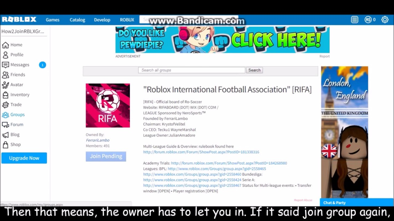 how to join roblox groups 2017 pc youtube