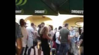 Marina Perazic LIVE @ EXIT 2010, VIP terasa