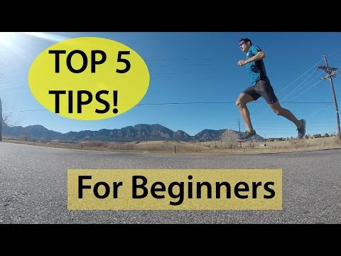 TOP 5 RUNNING TIPS FOR BEGINNERS! | Sage Running Training Plans & Coaching