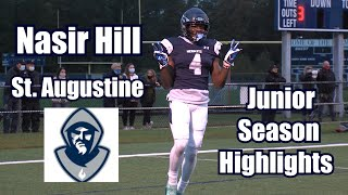 Nasir Hill | St. Augustine Hermits | 2021 Junior Season Highlights