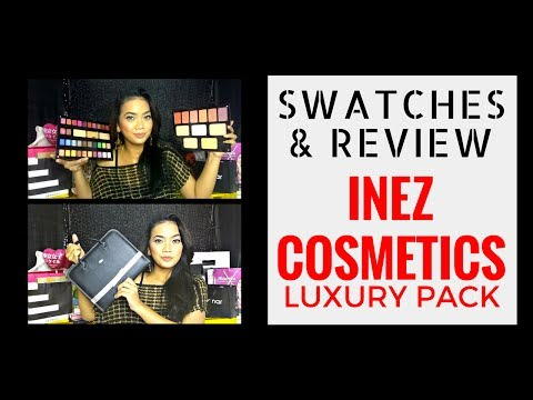 Inez Pallet Cosmetics - Luxury Pack Review & Full Swatches || Judith