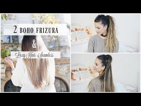 Luxy Hair Seamless Kollekció + 2 BOHO FRIZURA│Karin Dragos