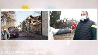 RTS u Majskim poljanama kod Gline, selu gde je petoro ljudi stradalo u razornom zemljotresu