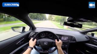 POV: Seat Leon Cupra 280 GREAT! OnBoard Acceleration LAUNCH CONTROL