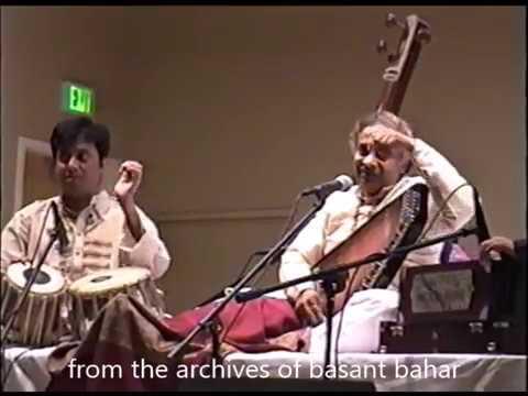 Pandit Ajay Pohankar Shuben Chaterjee Maru Bihag- Bhairavi