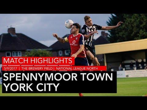 HIGHLIGHTS | Spennymoor Town 2-4 York City | 2017/18