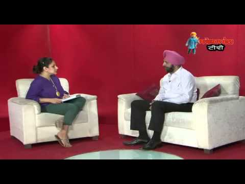In conversation with Tarntaran Singh Bindra cjm,mohali on legal aid services in punjab