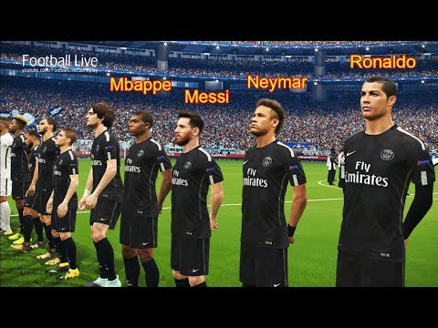 C.RONALDO and L.MESSI going to PSG? | Manchester City vs PSG | UEFA champions league UCL | PES 2018