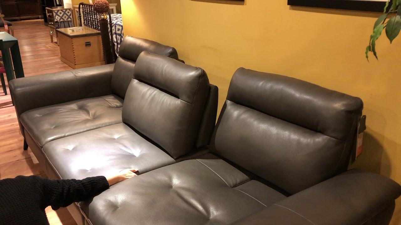 Futura 10365e Leather Sofa You