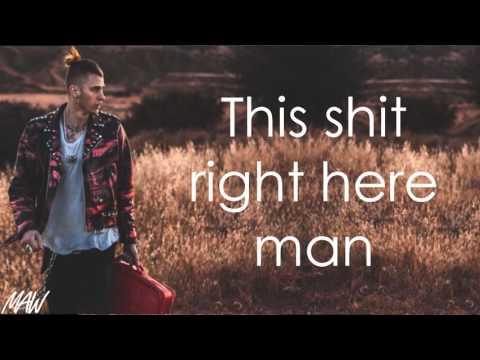 Machine Gun Kelly  All Night Long With Lyrics