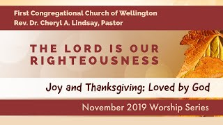 SERMON The Lord is Our Righteousness